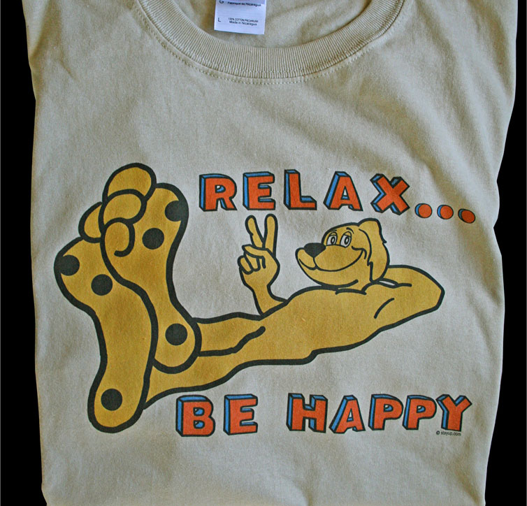 relax be happy